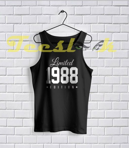 Tank Top 1988 Limited Edition 30th Birthday Party