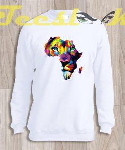 Sweatshirt Africa Lion