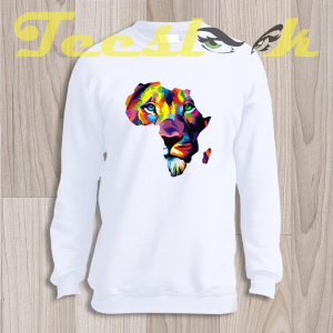 Sweatshirt Africa Lion