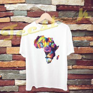 Africa Lion tees shirt