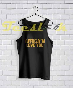 Tank Top Africa'n Love You