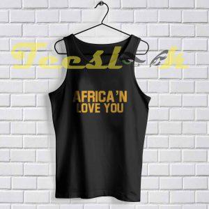 Tank Top Africa'n Love You