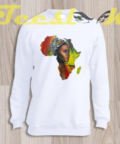 Sweatshirt African Woman