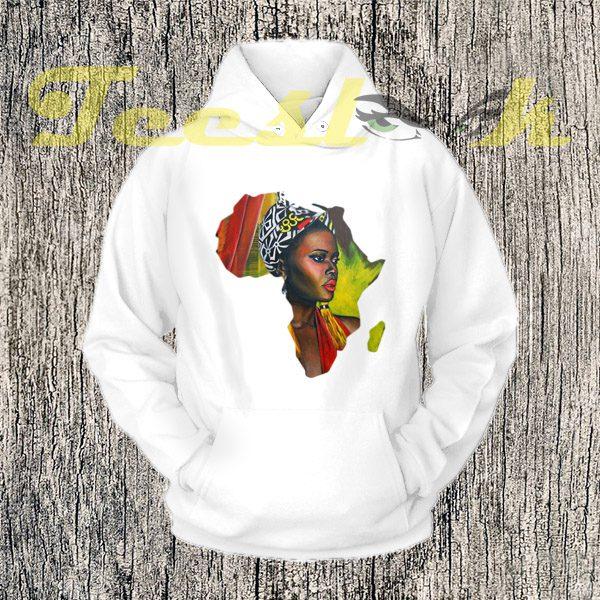 African Woman Hoodies