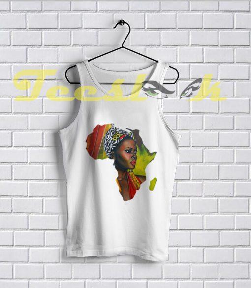 Tank Top African Woman