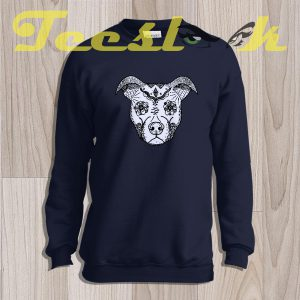 Sweatshirt Aztec Pitbull Face