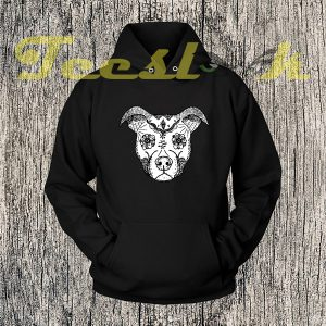 Aztec Pitbull Face Hoodies