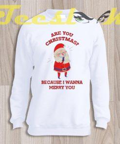 Sweatshirt Christmas Pick Up