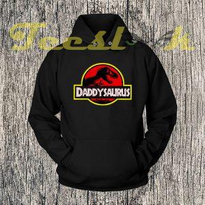 Daddysaurus Hoodies
