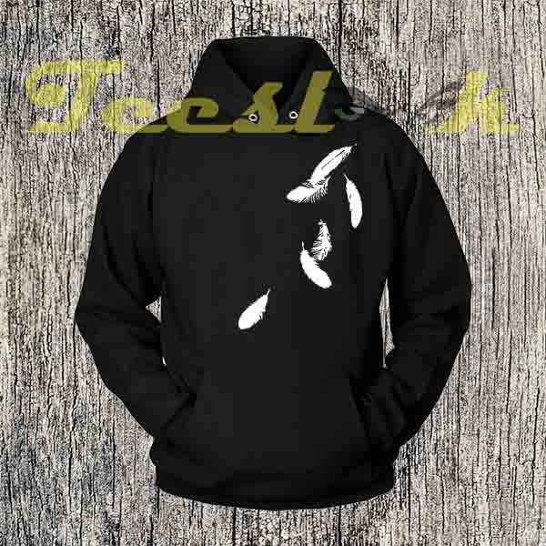 Falling Feathers Hoodies