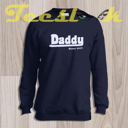 Sweatshirt Fathers Day Gift DADDY