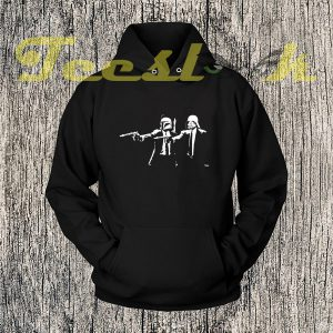 Inspired By StarWars Pulp Fiction Banksy Mashup Hoodies