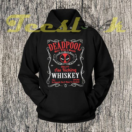 Inspired By The DeadPool Character Mashup Hoodies