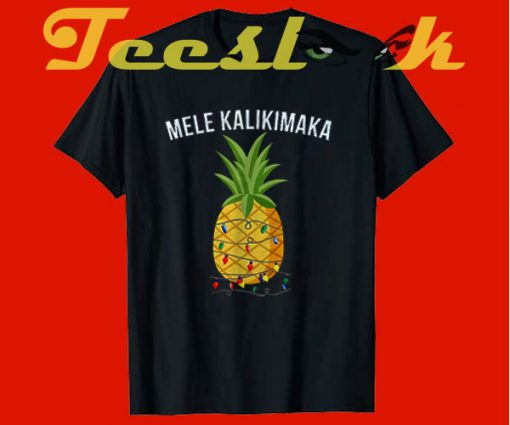 Mele Kalikimaka tees shirt