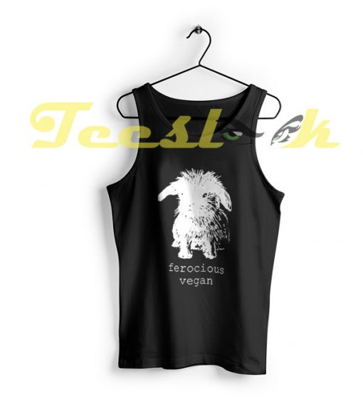 Tank Top Original Ferocious Vegan ECO Bunny