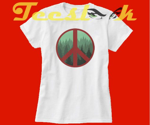 Peace Tree tees shirt