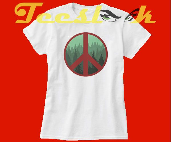 Peace Tree tees shirt