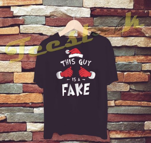 This Guy Is A Fake Cool Christmas tees shirt