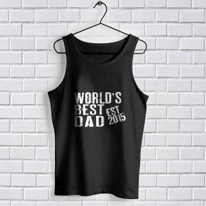 Tank Top World's Best Dad Mens