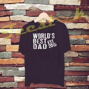 World's Best Dad tees shirt