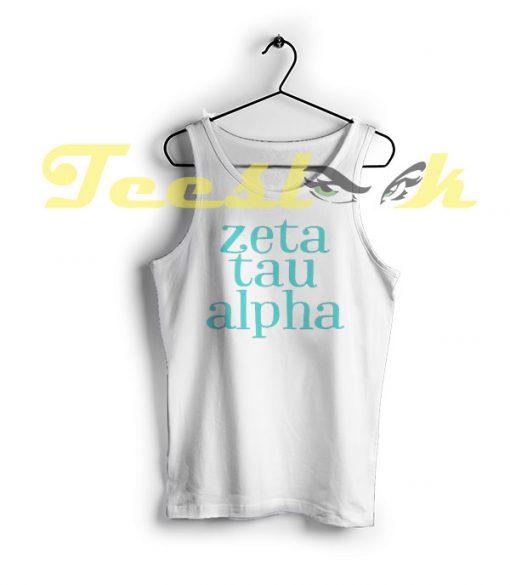 Tank Top ZTA Zeta Tau Alpha