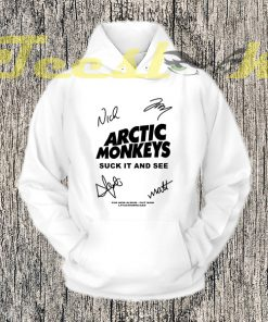 arctic Monkey Cover Album signature Hoodies