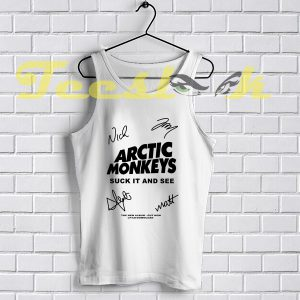 Tank Top Arctic Monkey Cover Album signature