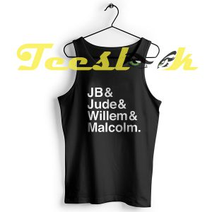 Tank Top A LITTLE LIFE book JB & Jude & Willem & Malcolm