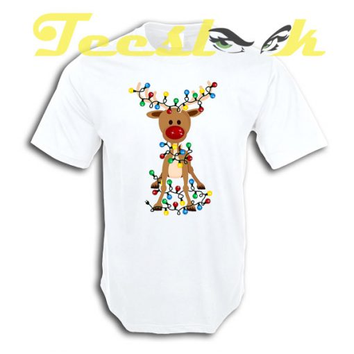 Adorable Reindeer tees shirt