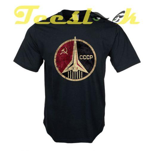 CCCP Rocket Emblem tees shirt