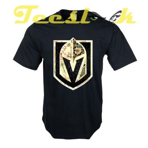 FLORALS Golden Knights tees shirt