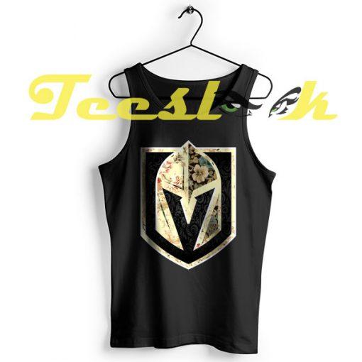 TankTop FLORALS Golden Knights