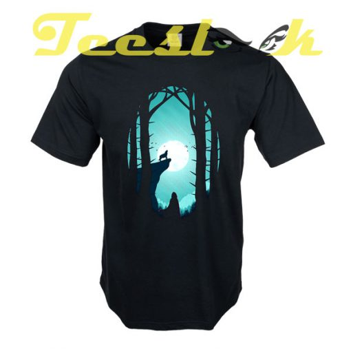 Full Moon tees shirt