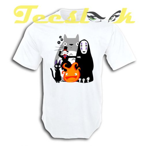 Ghibli'd Away tees shirt