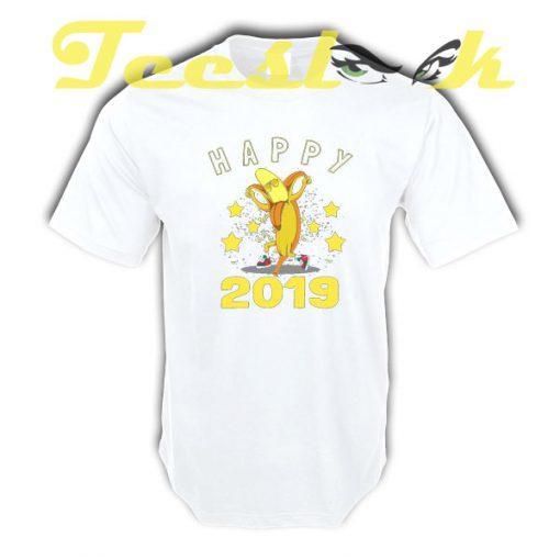 Happy Banana 2019 tees shirt