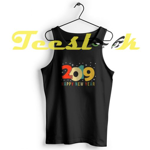 TankTop Happy New Year 2019 Vintage New Year's Eve