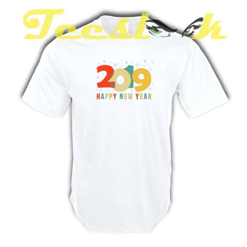 Happy New Year 2019 Vintage New Year's Eve tees shirt