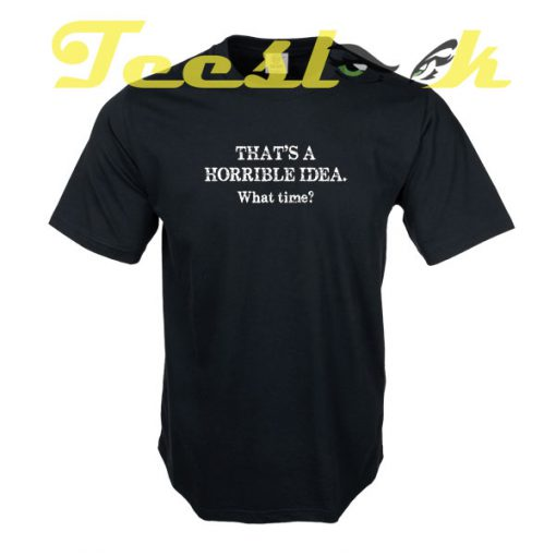 IDEA TIME tees shirt
