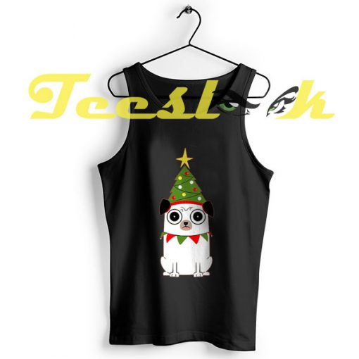 TankTop It's Christmas for Pug's sake