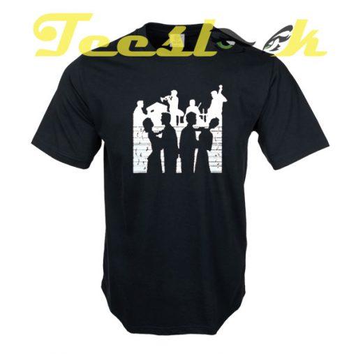 Jazz scene tees shirt