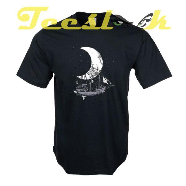 Moon Ship tees shirt