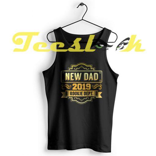 Tank Top New Dad 2019