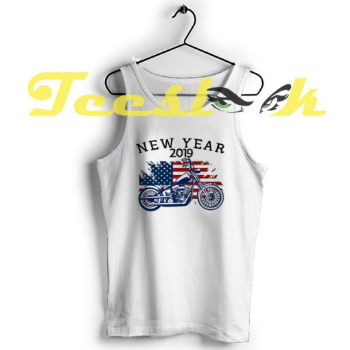 Tank Top New Year 2019 Motorcycle