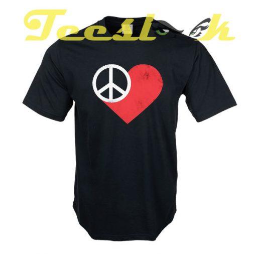 Peace & Love tees shirt