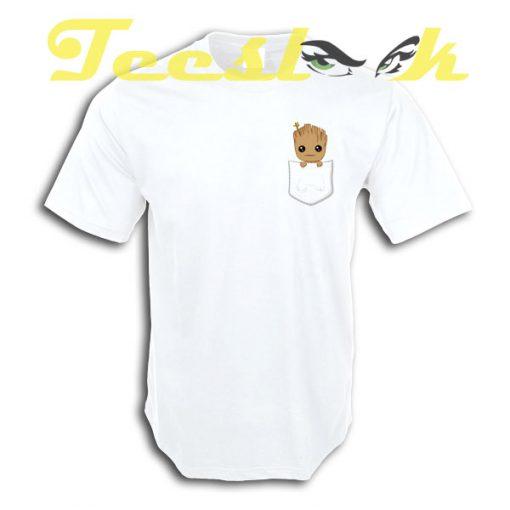 Pocket Groot tees shirt