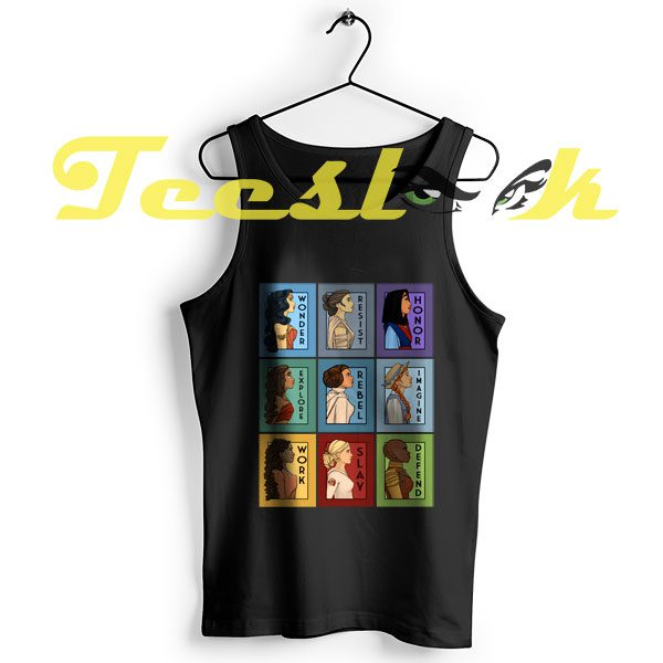 Tank Top She Series Collage