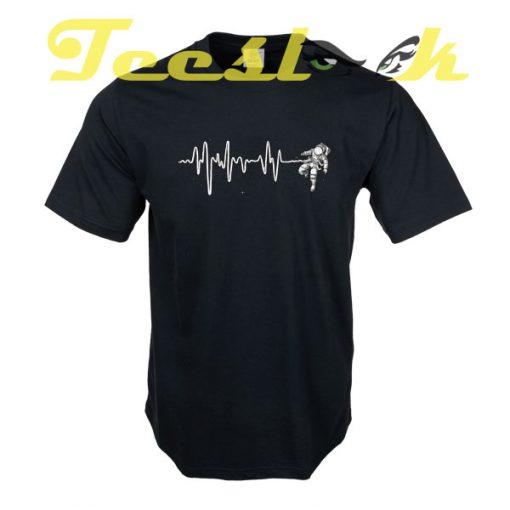 Space Heartbeat tees shirt