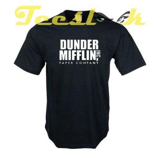 The Office Dunder Mifflin tees shirt