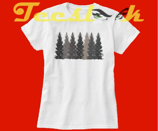Trees Forest Nature tees shirt