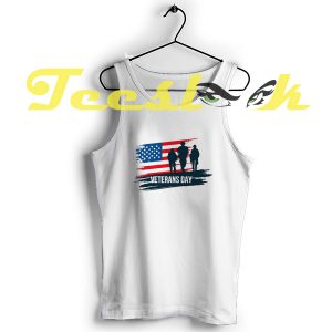 Tank Top Veterans Day Tee